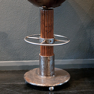 art deco bar stool