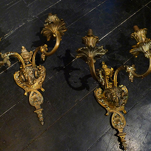 ram wall sconces