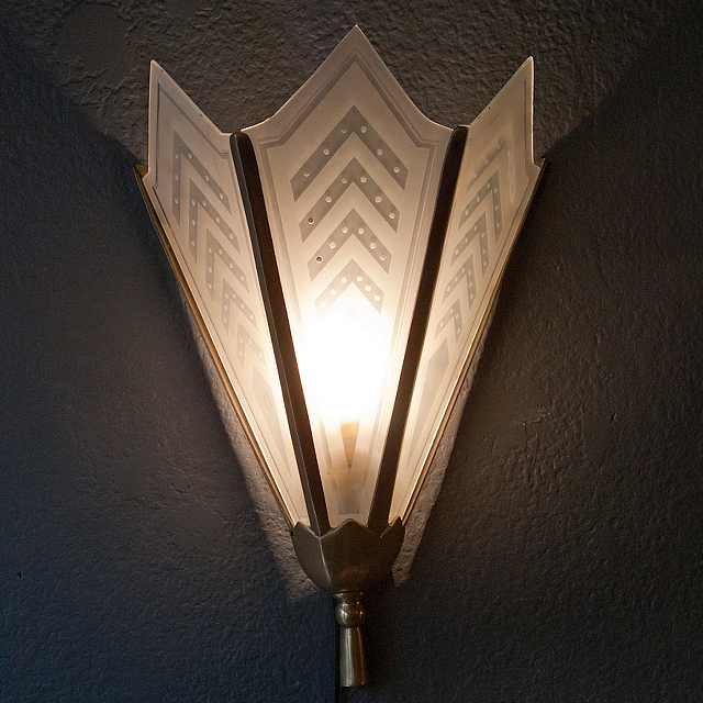 Art Deco Wall Lights : Trusha lakhani lighting